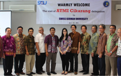 High-level delegation of ATMI Cikarang exchange visit to SGU