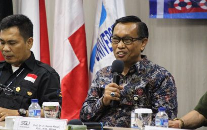 SGU Held FGD on Indonesia Maritime Potential
